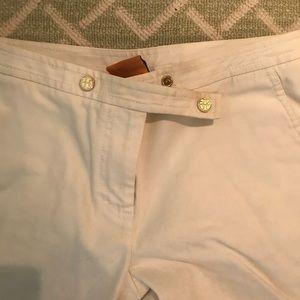 White Tory Burch pants